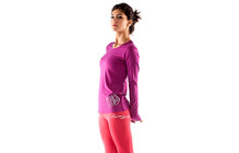 Mons Royale Women Original Long Sleeve berry type